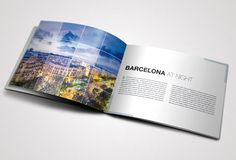 Travel Brochure designed by Danijel Mokic - A complete layout for a printable brochure. You can use this brochure for any typ of business or for personal usage. The layers are well organized and the files are created in order to be used by everyone.