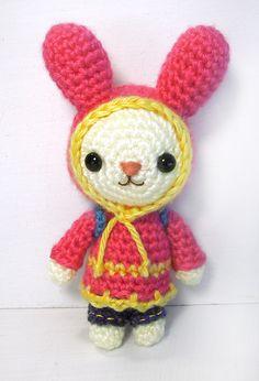 amigurumi - Bugaboo the Bunny by selkie.deviantart.com on @deviantART