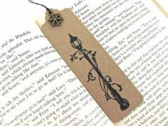 Narnia Lamp-post Hand Stamped Small Moleskine by BlackInkCat