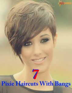 Images Of Pixie Haircuts With Bangs | pixie haircuts with ...