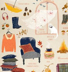 ALL YOU NEED FOR FALL on Behance
