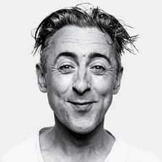 Alan Cumming Explains His One-Man Macbeth – Slideshow – Vulture Alan Cumming He is Puck and Loki all wrapped up British Actors, American Actors, Actors Funny, Face Expressions, Celebrity Portraits, Black And White Portraits, Interesting Faces, Photo Reference, Look At You