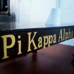 Pi Kappa Alpha exec table