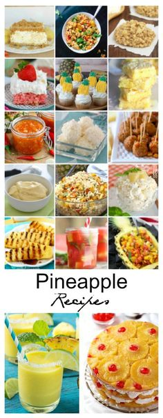 Recipe Ideas| Sharing some Pineapple Recipes that you can bring to a family get together or BBQ this summer.
