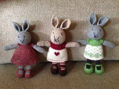 Knitting rabbits