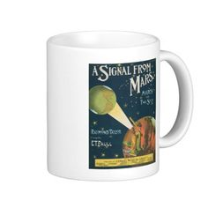 A Signal From Mars Coffee Mug
