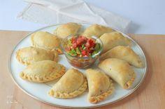 Empanadas horneadas – Boulangerie et Pâtisserie Apple Pie, Tacos, Dairy, Appetizers, Favorite Recipes, Cheese, Eat, Ethnic Recipes, Desserts