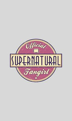 Wallpaper Lockscreen Supernatural Fangirl