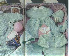 Tricotando para o Neném: Enxoval completo de tricô