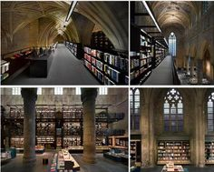 Church converted into Bookshop... totally amazing!!!