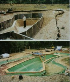 Bionova Natural Swimming Pools Keep Water Pristine And Pure Using Deep Middle And Shallow Water