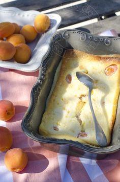 les petits plats de trinidad: Clafoutis abricot et fleur d'oranger