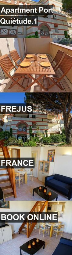 Apartment Port Quiétude.1 in Frejus, France. For more information, photos, reviews and best prices please follow the link. #France #Frejus #travel #vacation #apartment