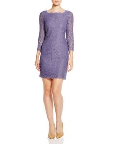 Adrianna Papell Lace Dress | Bloomingdale's