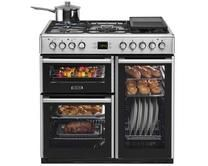 Leisure Stainless Steel Range Cooker   Range Cookers   Kitchen Appliances   Howdens Joinery