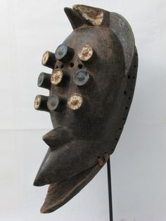 African Mask, Grebo Mask, Tribal Mask, African Tribal Mask, African Art, Antique by AmazingMagicalSpells on Etsy