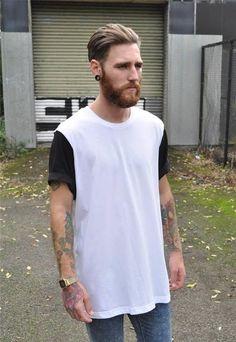 Camiseta Masculina LongLine (1)