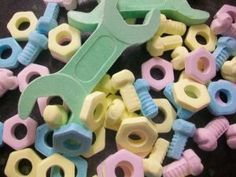 Candy Tools (Nuts, Bolts & Spanner) Retro Classic Sweets