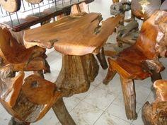 Recycled Thai Teak Table - £315.00  www.greedy-monkey.com - Thai Furniture