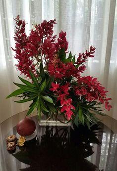 Freestyle flower arrangement