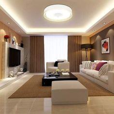 Living Room Partition Design, Living Room Tv Unit Designs, Ceiling Design Living Room, Beige Living Rooms, Living Room Modern, Home Living Room, Living Room Decor Inspiration, Living Room Decor Cozy, Interior Design Your Home