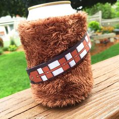 A woozie? A Chewboozie? Whatever you want to call it, this #coozie is out of…