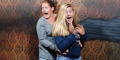 As you look and laugh at each eye-popping, jaw-dropping image above, you'll begin to wonder: What is scaring the bejabbers out of these visitors to the Nightmare Fear Factory in Niagara Falls, Canada?