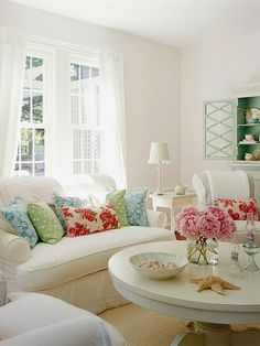 images of shabby chic bedrooms | Shabby Chic Living Room