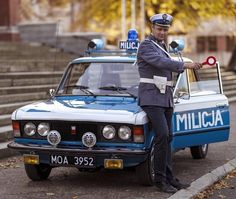 Police Vehicles, Emergency Vehicles, Police Cars, Automobile, Police Uniforms, Car Pictures, Old Cars, Fiat, Leo