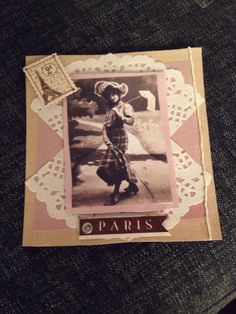 Vintage bursdagskort