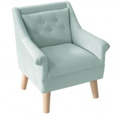 McKenna Kids Chair, Velvet Pool