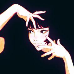 Kuvshinov Ilya is creating Illustrations and Comics Girls Anime, Anime Art Girl, Manga Art, Aesthetic Art, Aesthetic Anime, Character Illustration, Illustration Art, Arte Grunge, Character Art