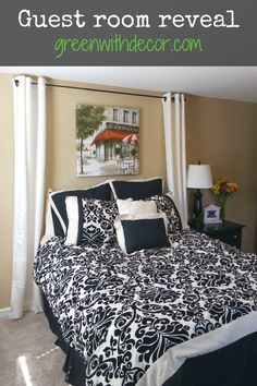 Green With Decor – Decorating a guest room
