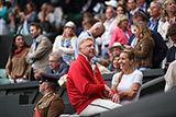 Boris Becker and Jelena Djokovic