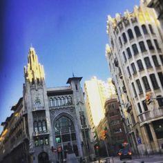 Punts de vista a #ViaLaietana #BCN #barcelona #architecture #instagram #instacool #instaday #igersbcn