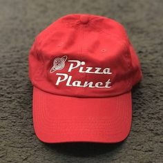 7eecc9e805e New Pizza Planet Hat Baseball Cap For Women and Man Dad Hat Summer Sun  Pizza Cotton Snapback Embroidery Sport Cap Casual Brand
