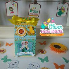 Caixa Milk Festa Frozen Fever para Thaila by Oliver Festas Infantis