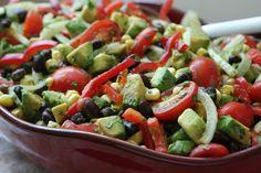 Black Bean, Corn, Avocado, and Tomato Salad - Circulon