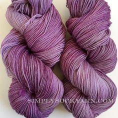 Simply Socks Yarn Company - Dic Smooshy 049 Lavender Bloom, $23.00…