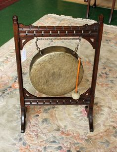 Victorian Dinner Gong - Antiques Atlas