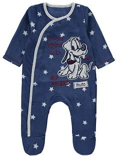 Disney Pluto Fleece Sleepsuit, read reviews and buy online at George at ASDA. Shop from our latest range in Baby. They'll soon be dreaming of Disney adventur...