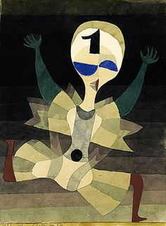 Paul Klee / Runner at the Goal, 1921