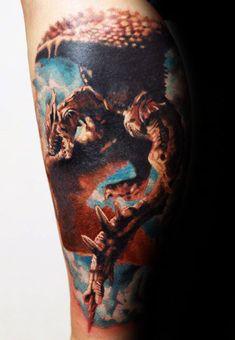 d36236359 Top 80 3D Dragon Tattoo Designs Ideas For Men | Goosetattoo 3d Dragon Tattoo,  Dragon