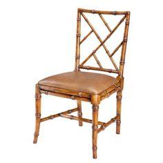Far East Side Chair  Old World Walnut by Sarreid.com