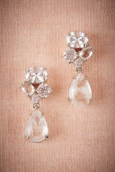 Crystal Clear Drops from @BHLDN $70.00