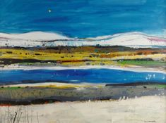 Scottish Artist Hamish MacDONALD - MacLeod's Tables, Skye