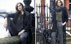 Robyn Lawley imagen del nuevo lookbook de Violeta by Mango otoño 2014