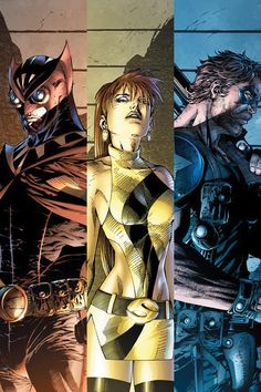 Watchmen - Nite-Owl, Silk Spectre, and the Comedian Comic Book Artists, Comic Book Characters, Comic Artist, Comic Character, Comic Books Art, Dc Comics Art, Fun Comics, Marvel Dc Comics, Cosplay Games
