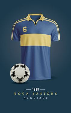 Boca Juniors Soccer T-Shirts / Printable / Wall Art / Poster / Decor Golf Stores, Sports Uniforms, Ralph Lauren Style, Fox Sports, World Of Sports, Football, Real Madrid, Mens Tops, T Shirt
