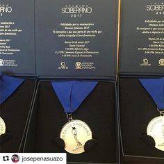 Felicidades maestro! #Repost @josepenasuazo  Me acaban de entregar las nominaciones y la invitaciòn a Premios Soberano.
